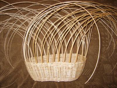 Плетение лозой корзины форум